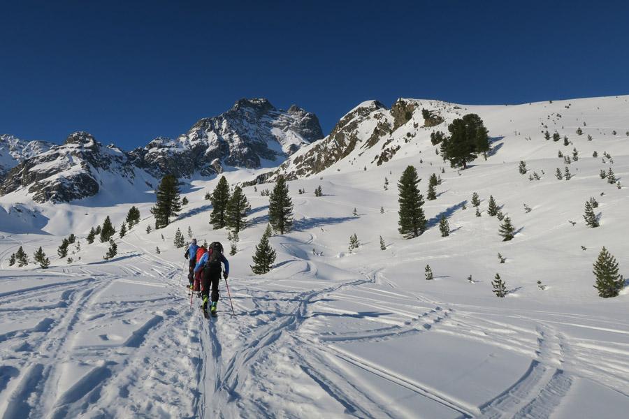 Skitour Rofelewand Pitztal Sümpfe