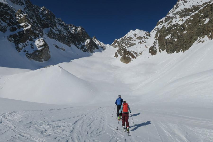Skitour Rofelewand Pitztal Totenkar